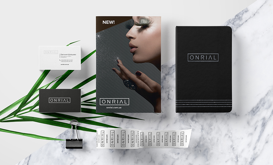 Full branding service for ONRIAL