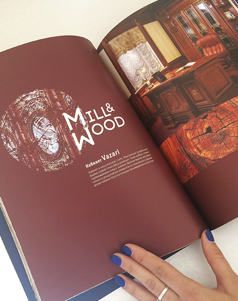 Creative graphic design for Mill&Wood-image-right