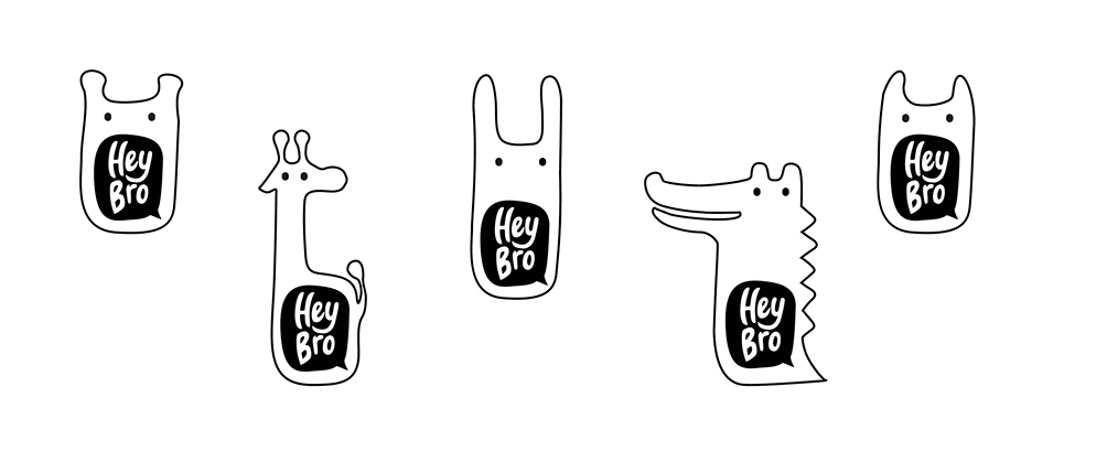 Branding for HEY BRO