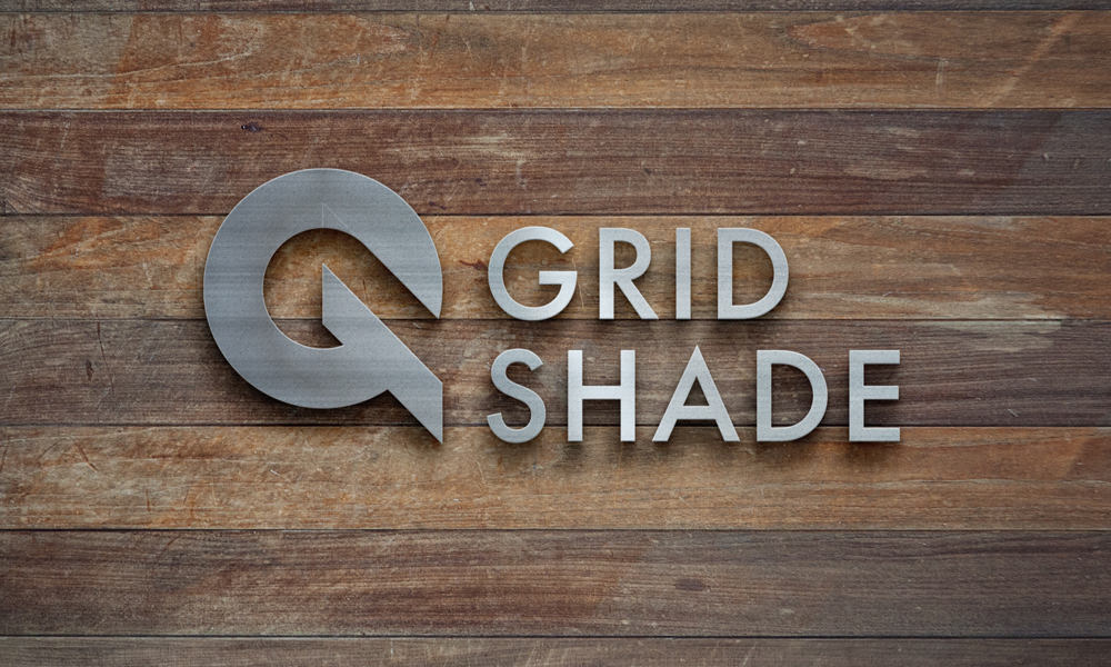 Logo, graphic design, landing page for  GRIDSHADE-image
