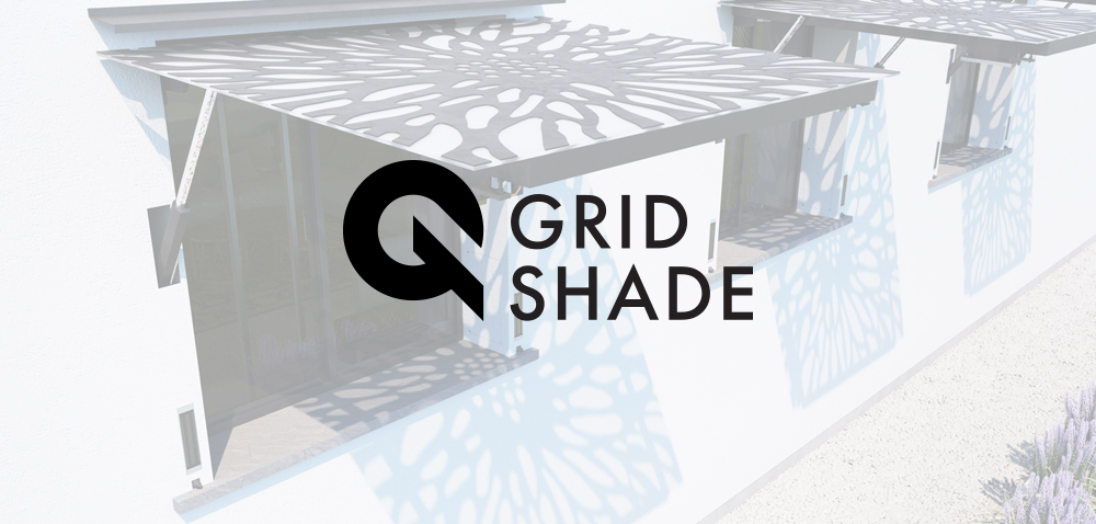 Logo, graphic design, landing page for  GRIDSHADE